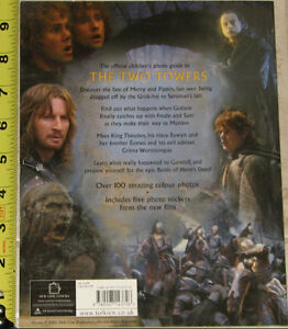 Lord of the Rings Book Two Towers Photo Guide Book London Ontario image 2