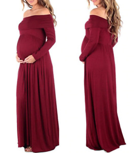 Beautiful Red Maternity Gown