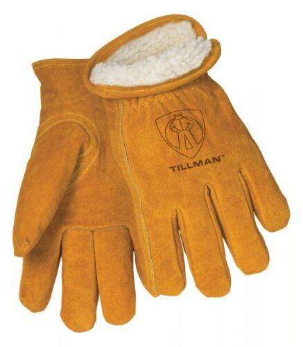 Tillman 1450 Mens Split Cowhide Pile Lined Winter Gloves Various Sizes MED-2XL