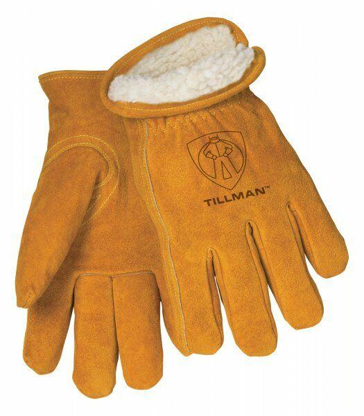 Tillman 1450 Mens Split Cowhide Pile Lined Winter Gloves Various Sizes MED-XXL Business & Industrial