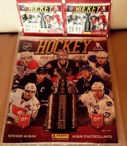 Album Panini NHL Hockey 2013/14 & plus...