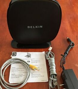 Belkin N450 F9K1105v1 DB Wireless Dual-Band N Routeur