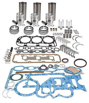 Massey Ferguson In-frame Engine Overhaul Kit - Perkins A3.152 35 50 Cast Liner