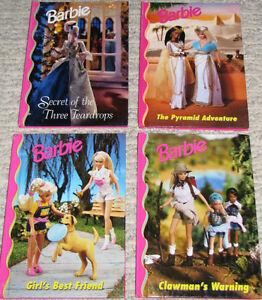 2 Sets x 4 Barbie Hard Cover Books (Lot # 1-3) London Ontario image 3