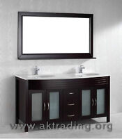 Double sink Bathroom Vanity  CHECK US OUT   Double vanity is ex