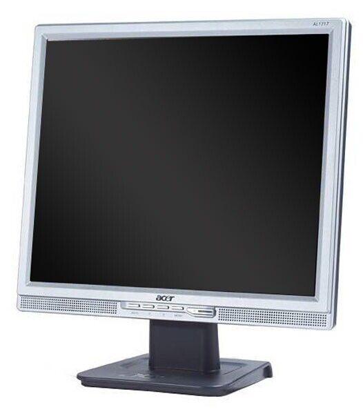 TFT Acer AL1717 17 Zoll Monitor Silber