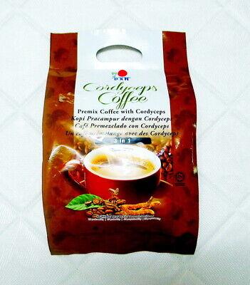 8 Packs DXN Cordyceps Coffee 3 In 1 Cordyceps Sinensis Instant Cafe Express  - $105.80