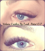Volume eyelash extensions with Reasonable Prices - SW