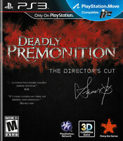 Looking for / Cherche Deadly Premonition The Director's Cut PS3