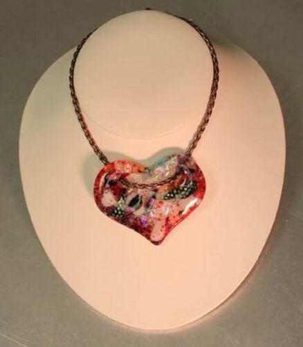Holey Heart Choker Mold - Glass Fusing #LF84
