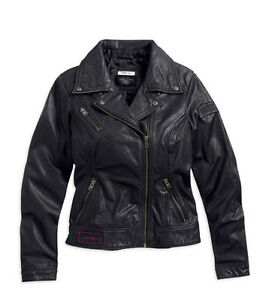 Harley-Davidson-Womens-Classic-Style-M-C-Rebels-Jacket-97170-13vw-SALE