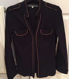 Ladies black shirt size 10