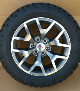 Wheel Offset 2014 Gmc Sierra 1500 Aggressive 1 Outside Fender Suspension Lift 6 Custom Rims furthermore 1064779494 likewise  likewise Leveling Kit likewise Will 285 55 20 Fit Stock 2014 Silverado. on 2014 gmc sierra all terrain tire size