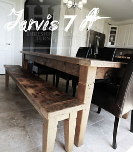 Gray Reclaimed Wood Tables with Smooth, Durable Finishing Oakville / Halton Region Toronto (GTA) image 2