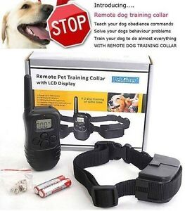 300M 3 IN 1 PET REMOTE ANTI BARK DOG TRAINING STOP BARKING COLLAR Bentley Canning Area Preview