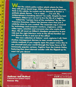 Qty 2 x Dilbert Fugitive from the Cubicle Police Comic Book London Ontario image 2