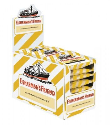 Fishermans Friend Pastillen (Fishermans Friend Tropical ohne Zucker Pastillen 24 Beutel)
