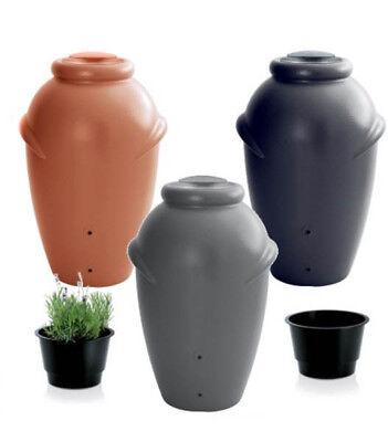 Regentonne Regenwassertonne Regenbehälter Regenfass 3 Farben 360 L Amphore