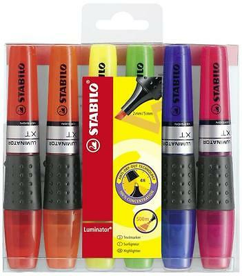 Stabilo Luminator Highlighter Marker Pen - All Color Available- Single Or All 6