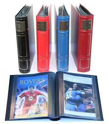 Set of 6 Football programme /  Presentation Binders NEW