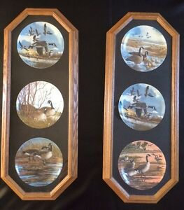 Decorative Plate frame with Plates Canadian Geese Peterborough Peterborough Area image 1