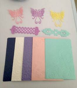 10 scrapbooking die cuts and card toppers for card making Brisbane Region Preview
