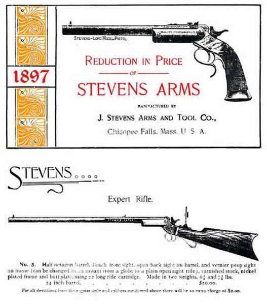 Stevens 1897 Arms Catalog