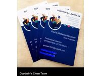 Cleaning team family run business