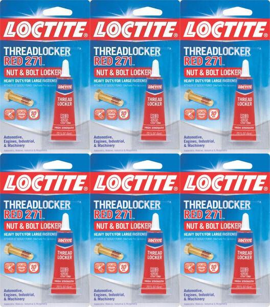 Loctite Threadlocker 271 Red 6 Ml 209741 Permanent Sealer (6-Pack)