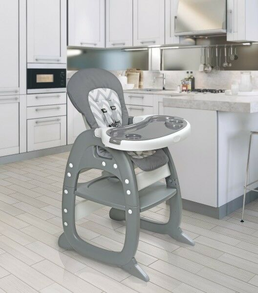 Envee II Infant Baby High Chair w/ Play Table/Chair Conversi