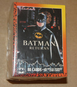 COMPLETE SET ~ 88 Trading Cards ~ 1992O-Pee-Che BATMAN RETURNS