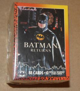 COMPLETE SET ~ 88 Trading Cards ~ 1992 O-Pee-Che BATMAN RETURNS