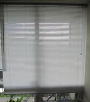 "STORE BLANC / BLINDS WHITE 1"" PVC"