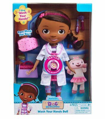 DOC McSTUFFINS Wash Your Hands DOLL 29cm Tall