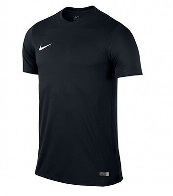 Nike Herren Fitness Freizeit Training Fussball T-Shirt PARK VI Dri-Fit Schwarz