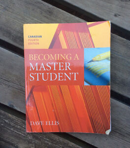 Becoming A Master Student - University TextBook