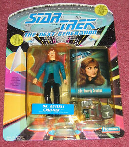 Dr. Beverly Crusher figure - NEW in package (Playmates 1993)