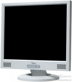"Job lot Fujitsu Scenicview 17"" LCD Monitors"