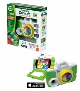 Leap Frog 'Creative Camera' With Protective Case App Learning Toy Brand New