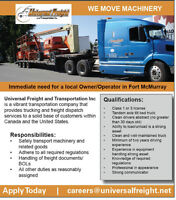 *Owner/Operator/Truck Driver*