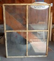 Reduced Various Old windows for decor, art projects etc.