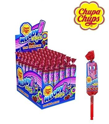 Whistle Pops (Chupa Chups Melody Pops Whistle Lollypops Make Music Strawberry Flavour 12 or)