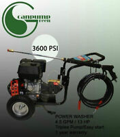 3600psi Pressure Washer 13Hp FOR 790 $