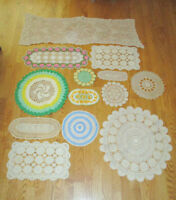 Vintage DOILY Lot - Different Colors / Sizes City of Montréal Greater Montréal Preview