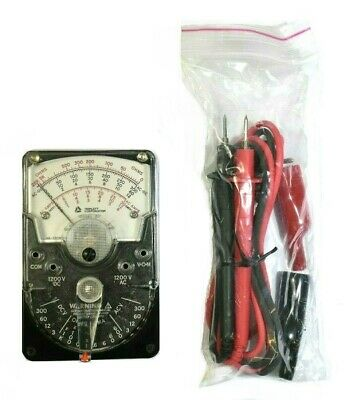 Triplett 310 Compact Hand-sized Analog Vom Multimeter 3018 W Test Leads Ref A