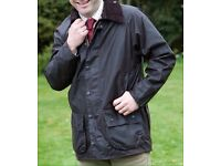 Barbour Jacket Coat (As New)