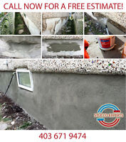 ALL PARGING AND STUCCO REPAIRS!