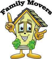Family Movers, 519-200-3116, 24 hrs & 365 days/year