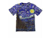 "Vincent van Gogh - ""The Starry Night""."