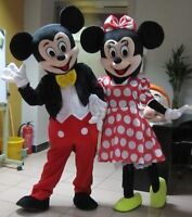80$ for rent MICKEY AND MINNIE MOUSE COSTUMES FOR ADULT